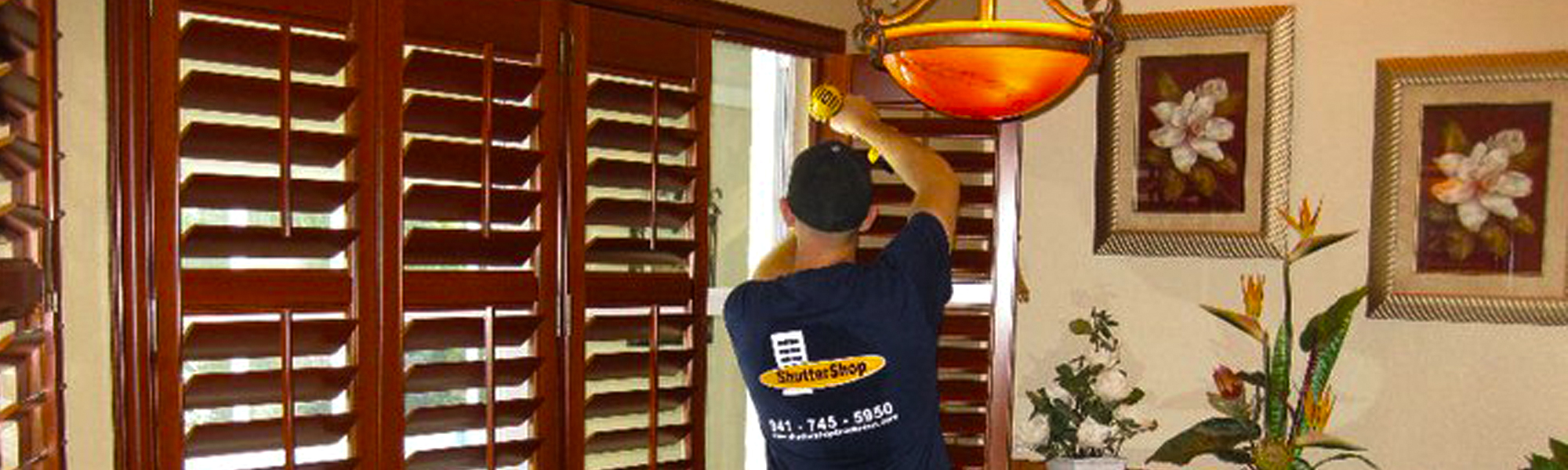 ShutterShop Bradenton FL - Installation - Window Blinds