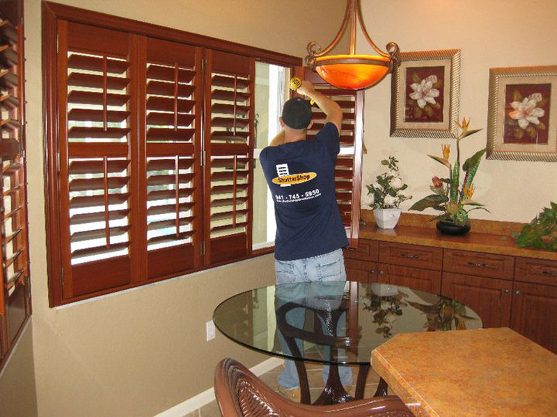ShutterShop Shutter Installation - Blinds Installation