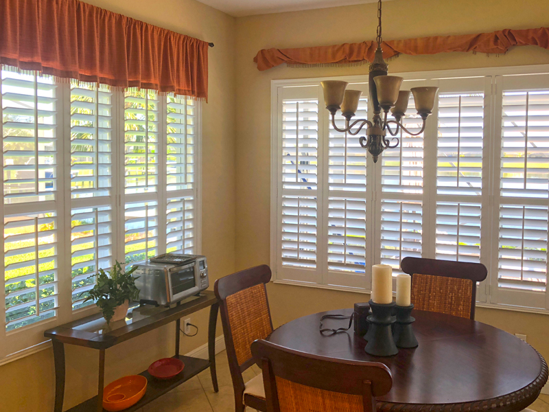 Sarasota County Plantation Shutters