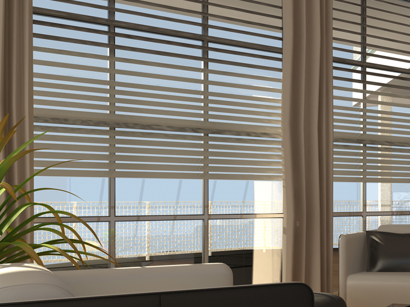Siesta Key Automated Window Covering